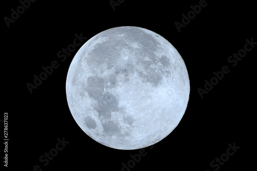 Fotomural  Full moon as seeing from the southern hemisphere