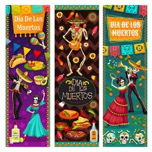 Dance Life And Death, Dia De Los Muertos In Mexico