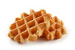 canvas print picture - freshly baked belgian waffles