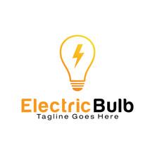 Electric Bulb Logo Design Temp...