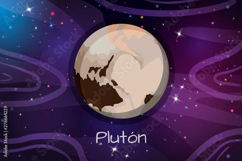 Fotomural Planet Pluto