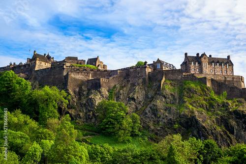 Edinburgh castle in Edinburgh city of Scotland, UK.