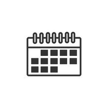 Calendar Icon Template Color E...