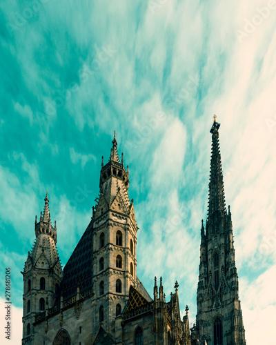 Photo  Vienna, Austria - St Stephen Cathedral against blue sky