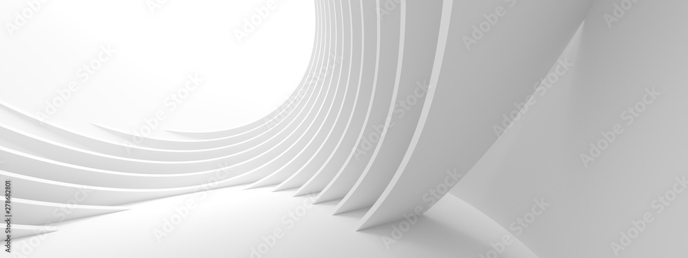 Fototapeta Abstract Architecture Background. Minimal Graphic Design