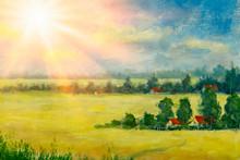 Beautiful Acrylic Painting On ...