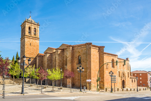 View at the Cathedral of San Pedro in Soria - Spain