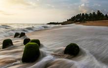 Sea Shore, Ullala Beach, Mangalore, Karnataka, India