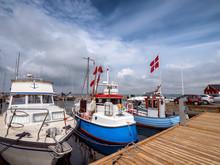 Small Harbor Marina On Lyoe In...