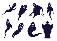Different Ghosts And Spooks BW...
