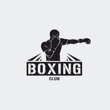 Boxing Club Illustration