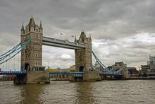 London Tower Bridge By Cloudy ...