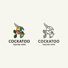 Icon Logo Of Bird Concept With...