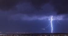 Lightning Over Akrotiri (RAF) , Limassol