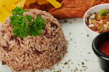 Plate Of Gallo Pinto
