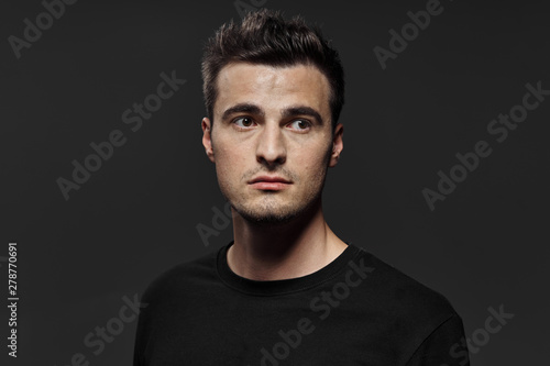 Fototapety, obrazy: portrait of young man