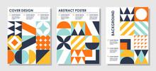 Set Of Abstract Creative Backg...