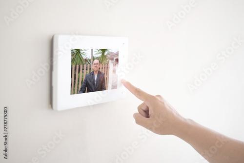 Fotografie, Obraz  Door phone access control