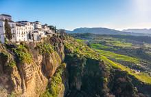 Ronda, Spain: Landscape Of Whi...