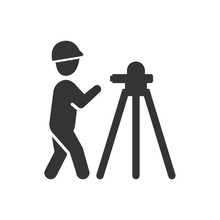 Land Surveyor Icon