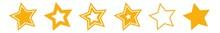 Star Orange | Icon | Logo | Variations