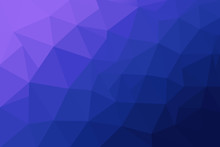 Abstract Polygonal Mosaic Background. Multicolor Low Poly Gradient Background. Blue Polygon Background