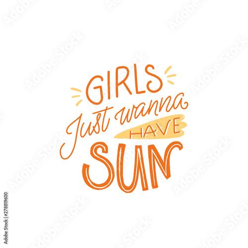Fotografía  Girls just wanna have sun