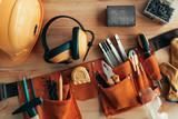Professional handyman tool belt