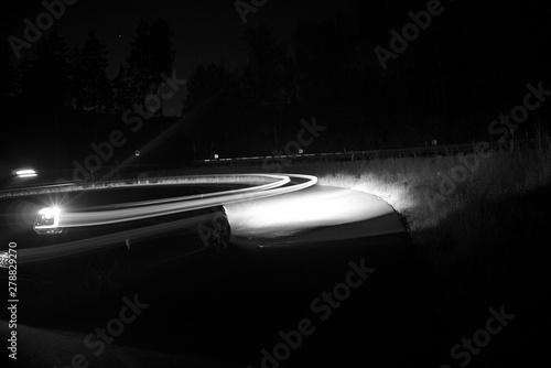 Fotografie, Obraz  light on the street