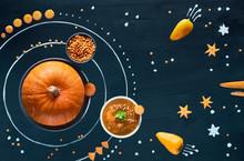 Healthy Food Concept Backgrou...