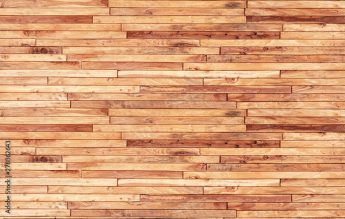 Poster Wall Small pieces of pine Arranged together into a beautiful wooden wall For interior decoration of buildings or floors and web backgrounds,Old wood wall texture , wooden background ,Beautiful Abstract