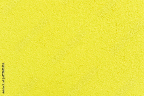 canvas print motiv - 249 Anurak : Yellow cement surface wall texture for background , Concrete wall.