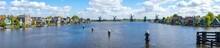 Panorama View Of Windmills At ...