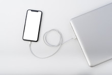 Smartphone Connect Charger To Laptop