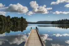 Lake Mapourika West Coast New ...