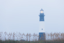 Lighthouse At Foggy Morning, T...