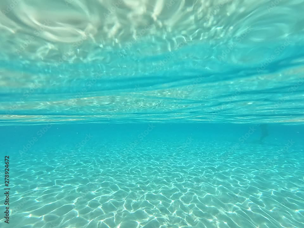 Fototapeta blue water background