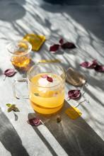 Tea Orange Drink Summer