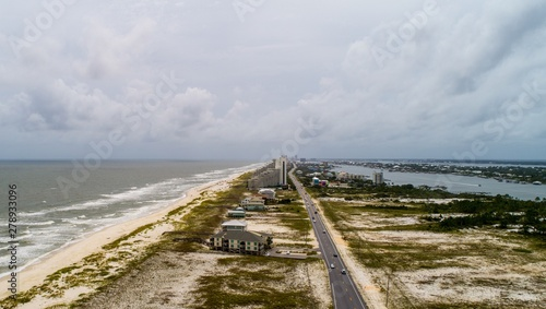 Photo Perdido Key Beach after Hurricane Barry