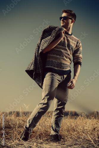 Foto op Canvas Jacht fashion for men