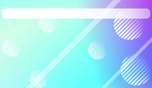 Abstract Blurred Gradient Background With Line, Circle. For Screen Cell Phone. Vector Illustration.