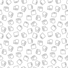Tissue Paper vector minimal linear seamless pattern or background