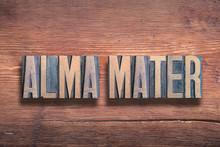 Alma Mater Wood