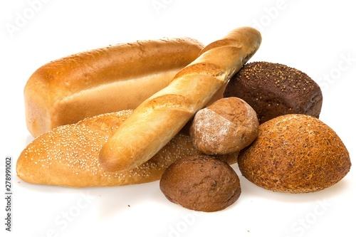 Foto auf Gartenposter Brot Assorted Breads