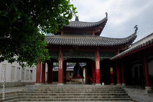 In de dag Peking Guiyan temple - Wuhan - China