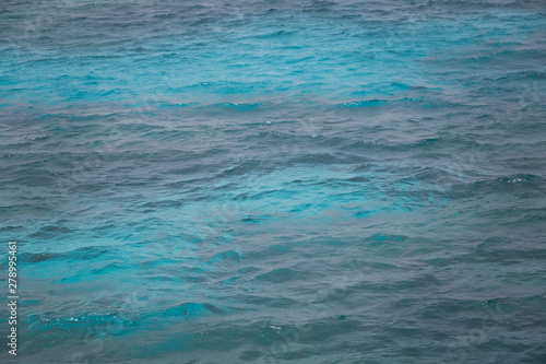 Carta da parati  Blue sea water summer background