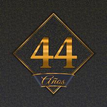 Spanish Golden Number 44 Templates