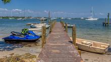 Small Boats Docked On Anna Mar...