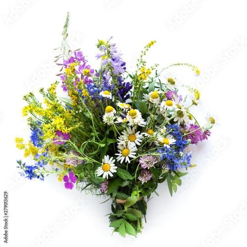 Foto auf AluDibond London Summer Flowers