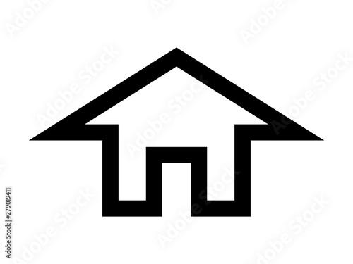 Obraz dom ikona - fototapety do salonu